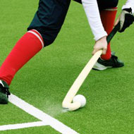 Synthetic grass for hockey